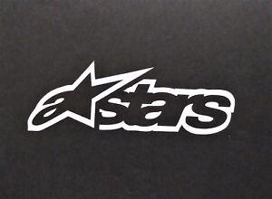 Alpine Stars Vinyl Decal for laptop windows wall car boat