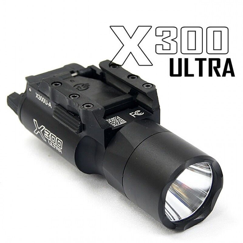 Pistol Light X300U-A LED Weapon Light Mount Handgun  Light Hunting Accessories  good quality