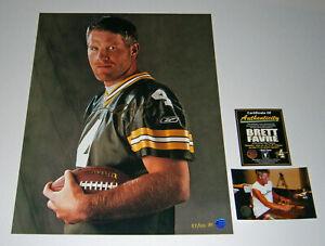 PACKERS Brett Favre signed THE HUNK 16x20 photo COA AUTO Autographed 87/100 AP