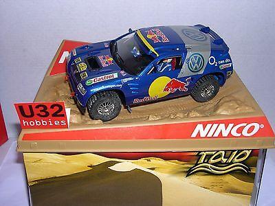 Elektrisches Spielzeug Qq Ninco 50380 Volkswagen Touareg Dakar 2005 J.kankkunen-j.kleinschmidt-b.saby Rich In Poetic And Pictorial Splendor Kinderrennbahnen