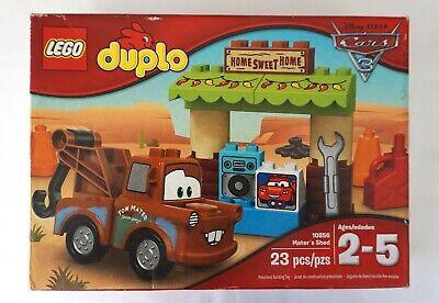 LEGO DUPLO 10856 Mater/'s Shed Building Kit Disney Pixar Cars 3 Preschool Toy New