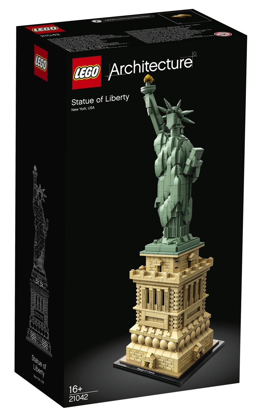 Nueva Arquitectura De Lego estatua de la libertad Set Set Set 21042 J 72381c
