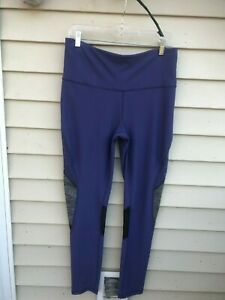 order online new price remains stable Details about Xersion Workout Leggings Fitted Sz L Womens Yoga Purple BLACK  GRAY Pants