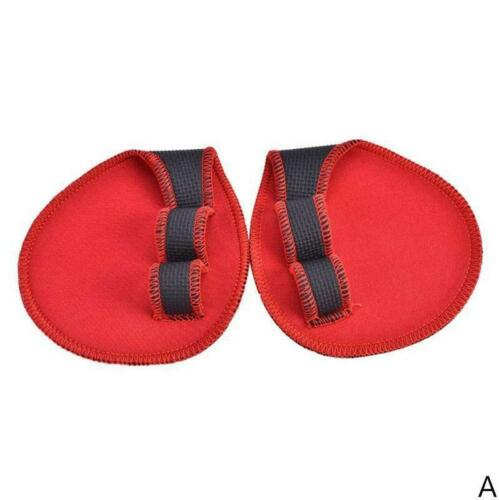 1 Pair Weight Lifting Grips-Pads Hand Training Bar Straps Wrap  Gloves