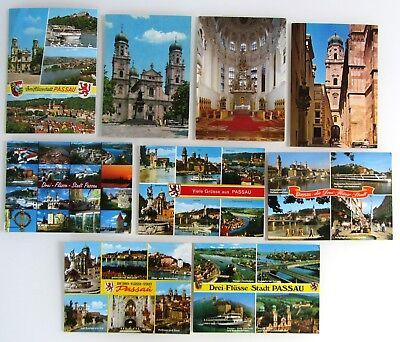 Gewidmet Postkarten Ansichtskarten Lot Von Passau Bayern 9 X Ak Ungelaufen Ab/nach ~1970 Mit Dem Besten Service