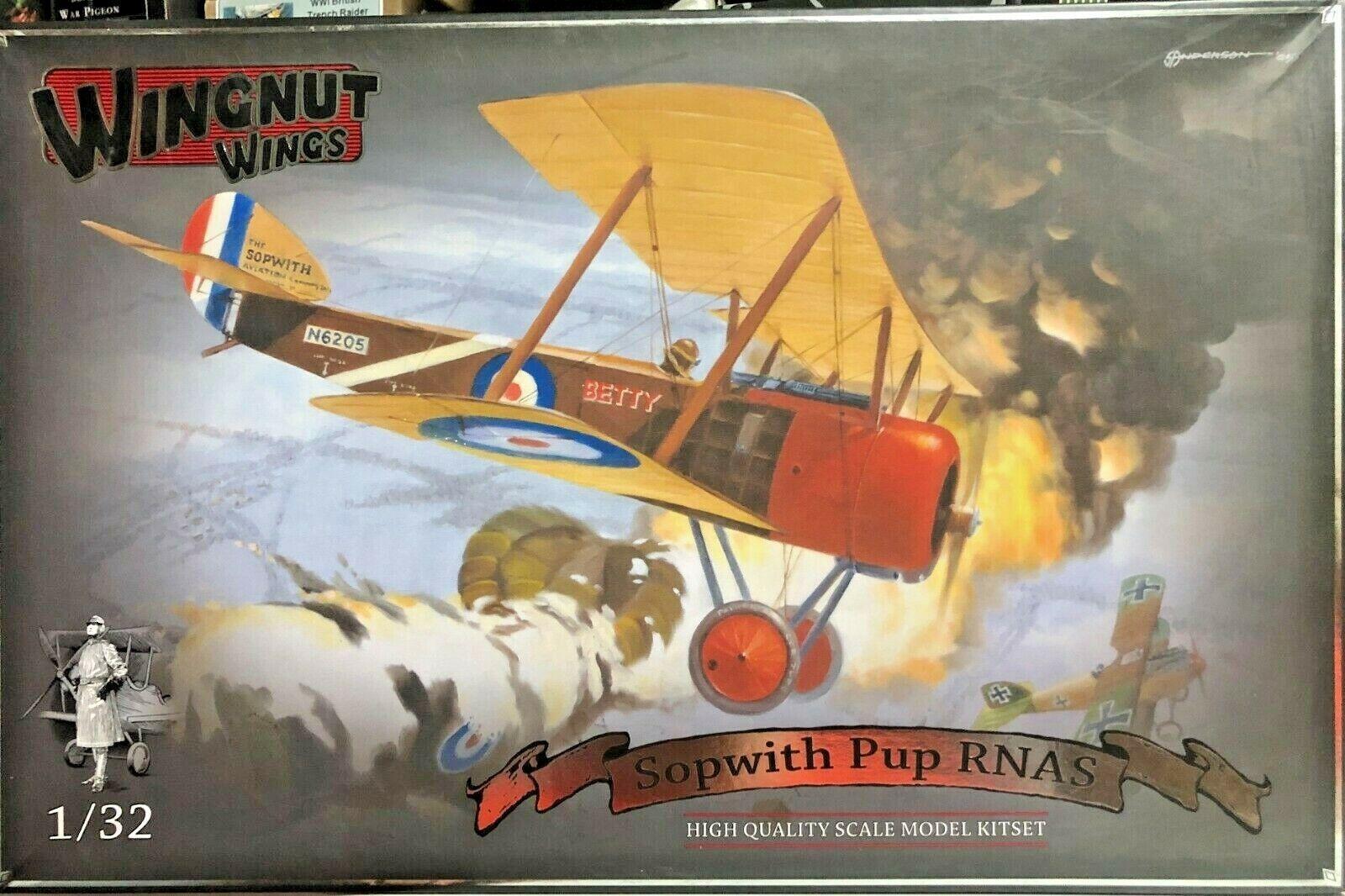 negozio online 1 1 1 32 WINGNUT WINGS 32016 SOPWITH PUP RNAS. nuovo.  molto popolare