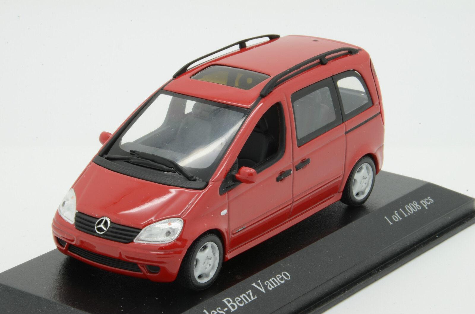 Mercedes Vaneo Red Minichamps 1 43