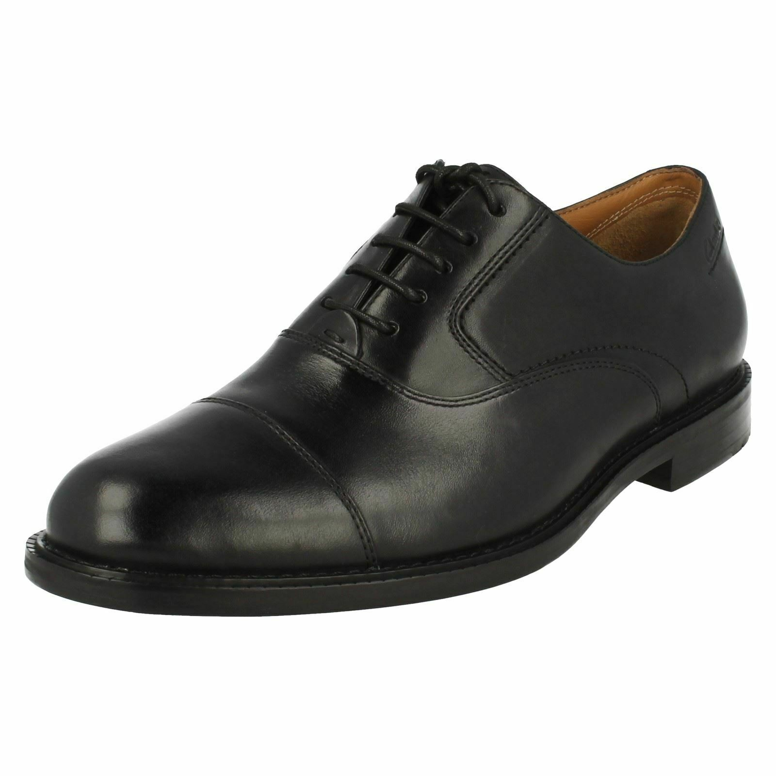 Mens Clarks Formal Lace Up shoes - Dorset Boss