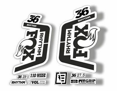 FOX 36 Rhythm 2019 Forks Suspension Factory Decal Sticker Adhesive Red