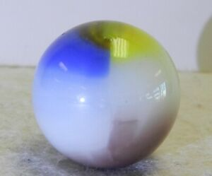 #12283m Vintage Vitro Agate Shooter Marble .86 Inches