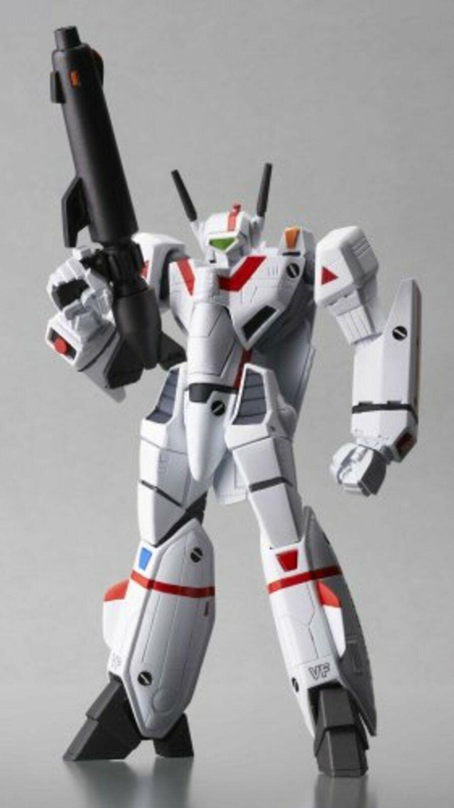 Revoltech Macross Valkyrie VF-1J la figura Robotech (juguete) F s con seguimiento Japón