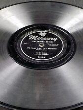 Mercury 5012 Jack Fina HUNGARIAN RHAPSODY / IT'S WAY PASY MY BEDTIME 78 V+