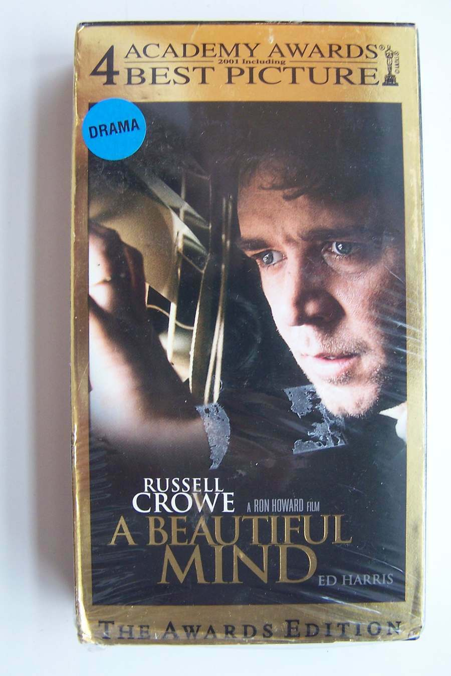 A Beautiful Mind VHS Video Tape 2002