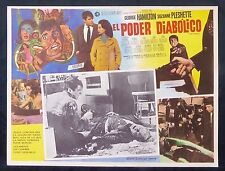 THE POWER George Hamilton Suzanne Pleshette LOBBY CARD N MINT 1968 GEORGE PAL