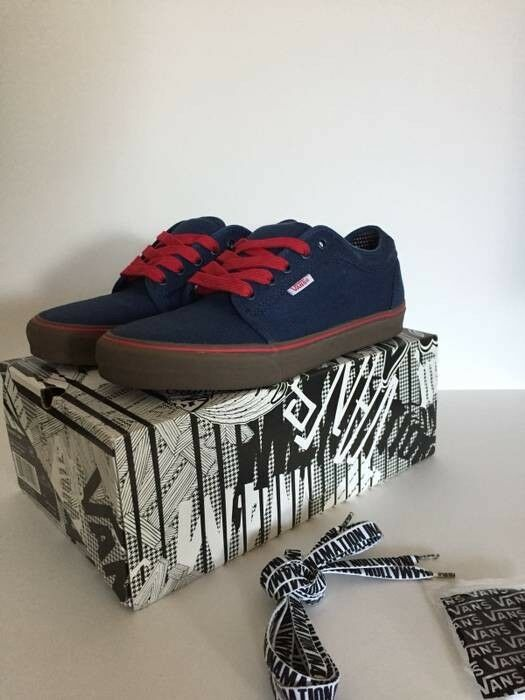 Vans X In4mation Chukka Low Size 8.5
