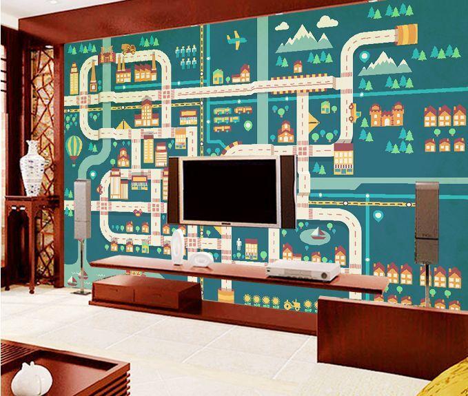 3D gioco 24 Parete Murale Foto Carta da parati immagine sfondo muro stampa