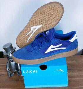 Lakai Skateboard Footwear Skate Schuhe Shoes Cambridge Blueberry Suede 12/47