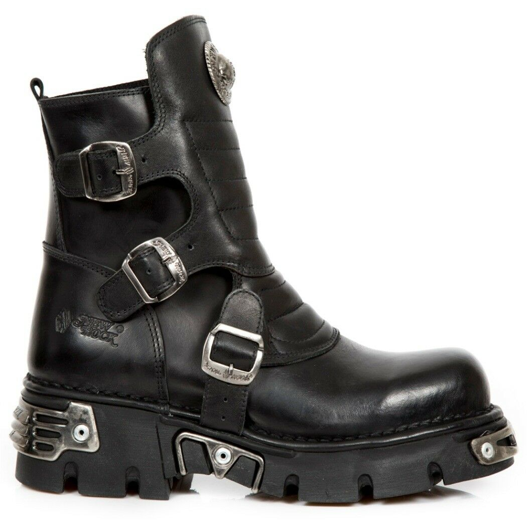 Newrock NR M.1482X S1 Nero-New Rock Boots-Unisex