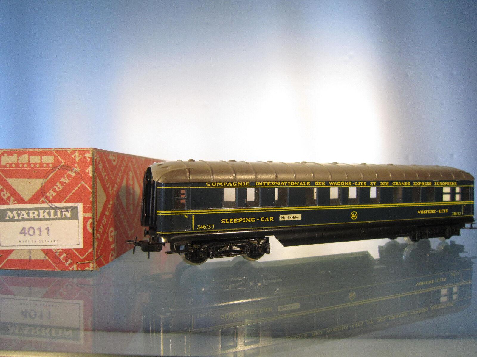marklin 3463 J 4011 vagone letto della CIWL mattoncini, in autotone