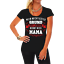 Frauen T-Shirt Mein Grund zu leben nennt mich Mama Mutti Muttertag Geschenk