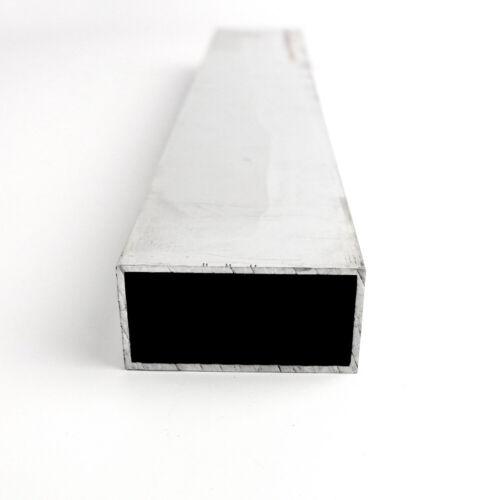"72.0/"" 1/"" x 3/"" x 0.125/"" Aluminum Rectangle Tube 6061-T6-Extruded"
