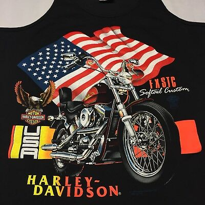 1997 Harley Davidson Tank Top Harley Tank Streetwear Biker Motorcycle Medium Fashion Clothes Vintage Tee Vintage Clothing