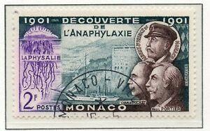 Timbre De Monaco Oblitere N° 394 Charles Richet Et Paulportier Assurer IndéFiniment Une Apparence Nouvelle