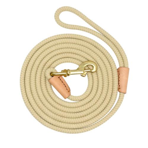 Heavy Duty Dog Tracking Leash Nylon Rope Lead 10ft//3M 16ft//5M 33ft//10M 66ft//20M