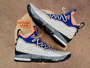info for 669fe b0ba1 Image is loading Nike-LeBron-XV-15-KSA-Mowabb-ACG-Racer-