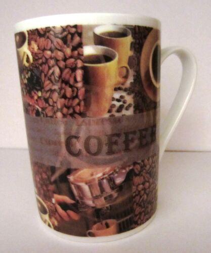 Kaffeebecher Kaffee Tasse Kaffeetassen  feines Porzellan 4 vers Motive 48 Stück
