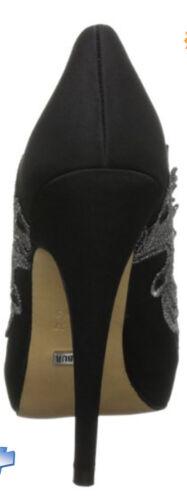 negro zapatos con Menbur tacón de Bnib punta de Winton abierta 4Sn8vR1