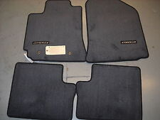 Toyota Floor Mats >> Toyota Corolla 2003 2008 Gray Carpet Mats Without Rear Heater