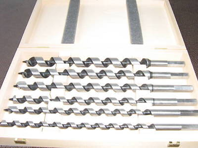 FAMAG 6-teil. Schlangenbohrer-Satz 320 mm, Lewisbohrer