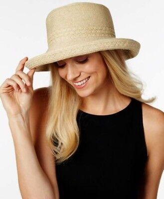 c6cf9990f Nine West Packable UPF 40+ Kettle Sun Hat Natural Beige #C327 ...