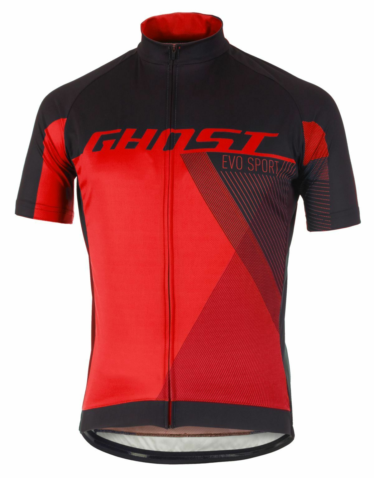 Ghost Performance Evo Jersey Short, black-red, Größe XXL, Fahrrad-Trikot