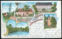 Litho / Lithographie SCHABENDORF (Schrakau, Craupe, Calau bei Gollmitz)