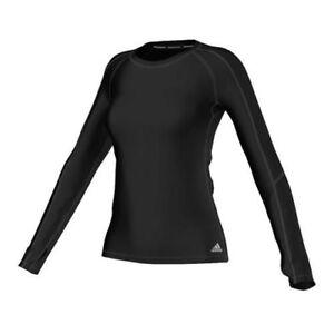 Details zu Adidas TF CW Climawarm LS Shirt Damen TechFIT Funktionsshirt Gr.M *NEU + OVP*