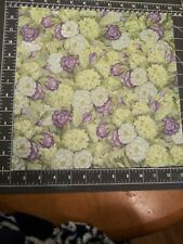 """K/&Co 12/"""" Scrapbook Paper 5p Abrianna Green Geo Flower Girl Scout Spring St Pat/'s"""