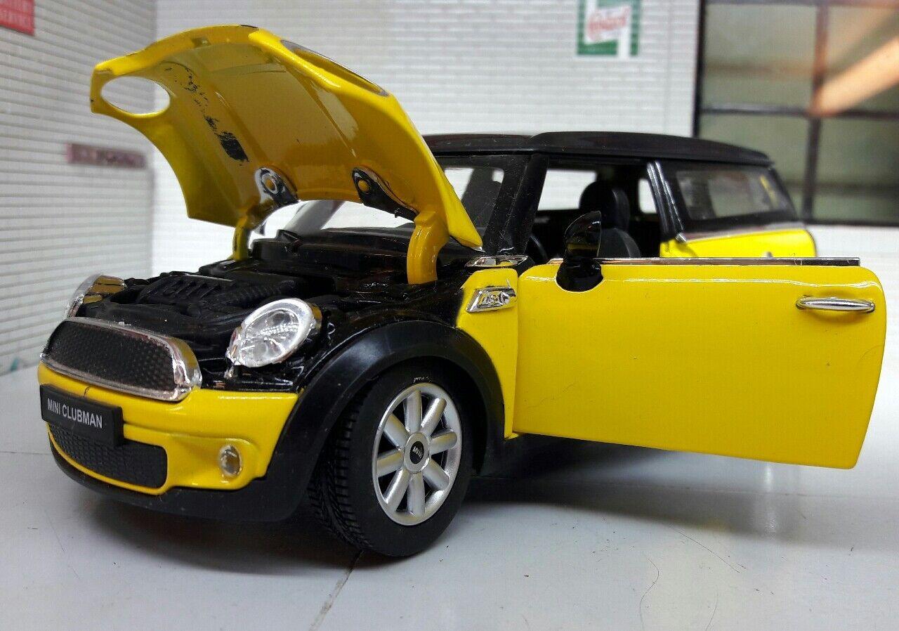 1 1 1 24 Escala Rojo BMW Mini Clubman Cooper R55 2014 1.6 Rastar 9bd3b2