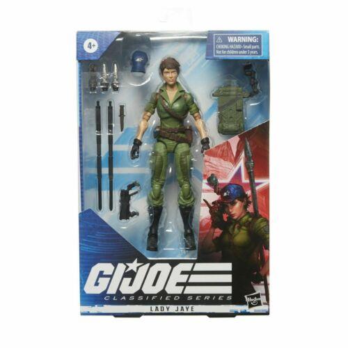 G.I Joe Classified Lady Jaye 6 inch Figure New Stock in hand in UK