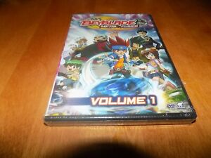 BEYBLADE METAL FUSION VOLUME 1 One Anime 7 Episodes ...