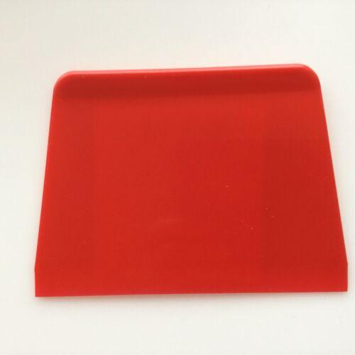 Teigkarte Teigschaber Spachtel Teigkratzer Teigabstecher 13,5 x 9,8 cm