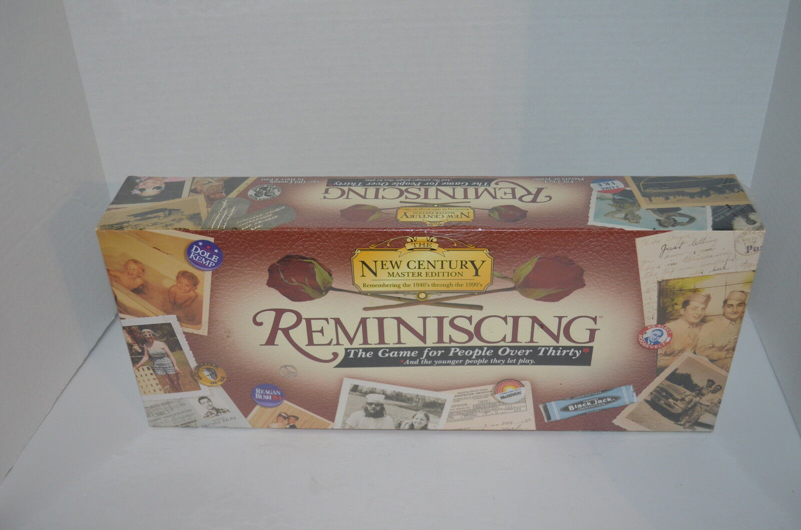 Reminiscing Board Game For People Over 30 Edition New Century Master Edition 30 NEW 995d92