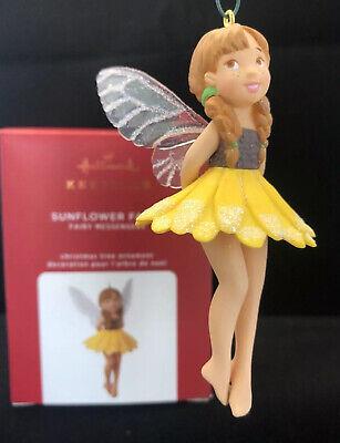 Hallmark 2020 Sunflower Fairy 16th in Series Fairy Messengers Keepsake Ornament