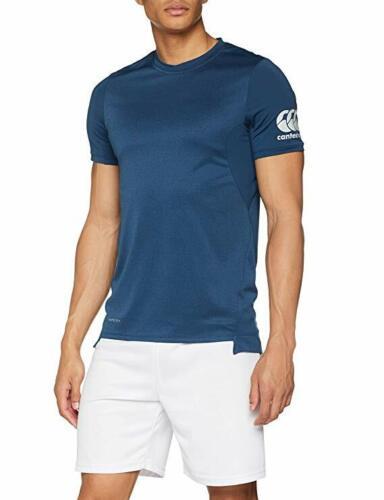 turquoise chiné BNWT. 3XL Canterbury Homme Vapodri Perceuse T-Shirt