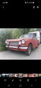 1962 Triumph vitesse sport 6