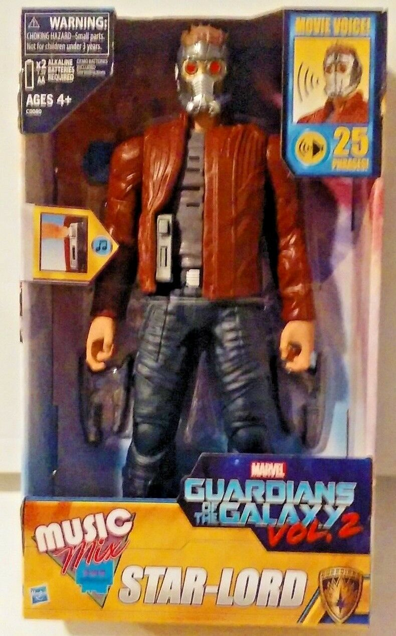 Marvel Guardians of the Galaxy Vol 2 Music Mix Star-Lord New MISB