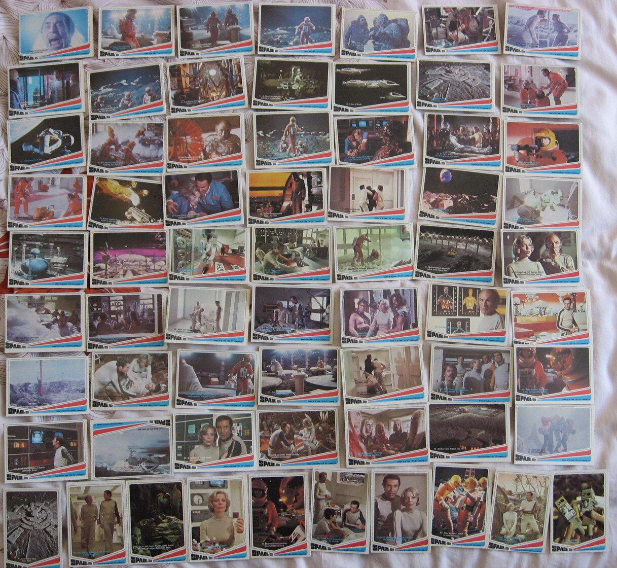 Eine serie de carte bolle 1999 kaugummi sette usa 1976 gerry anderson