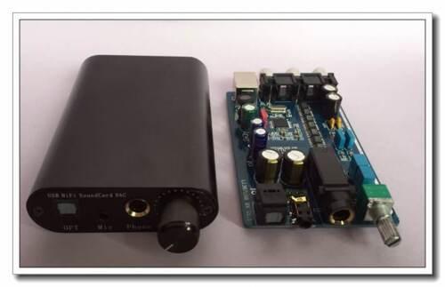 L1387USB 8X huit parallèle TDA1387 DAC décodeur HiFi Amplificateur de Casque DTS AC3