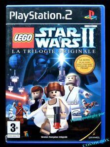 PlayStation 2 - LEGO STAR WARS II - La TRILOGIE ORIGINALE - jeu console ps2 PAL